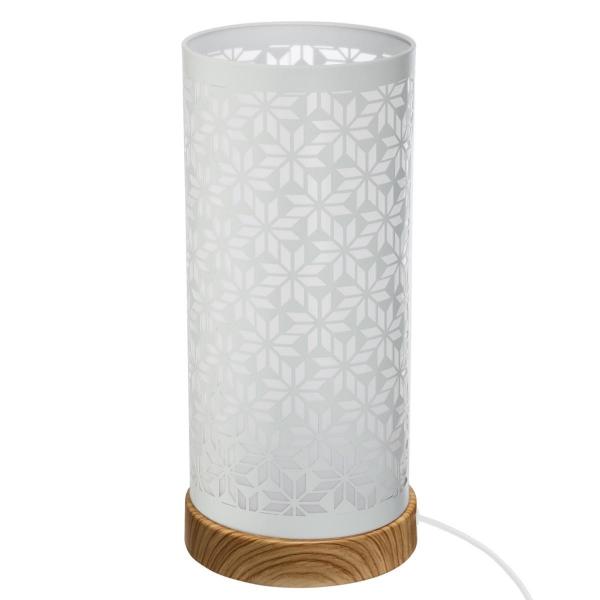 Veioza cu touch, design modern, aspect floral [2]