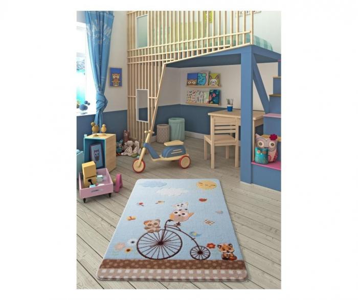 Covor copii Sunny Day Bleu 100 x 150 cm [1]