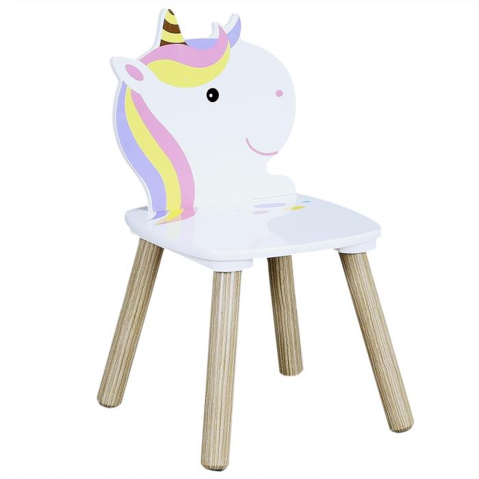 set masuta si scaunele copii unicorn 3