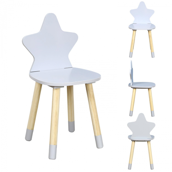 scaunel copii gri deschis star [0]