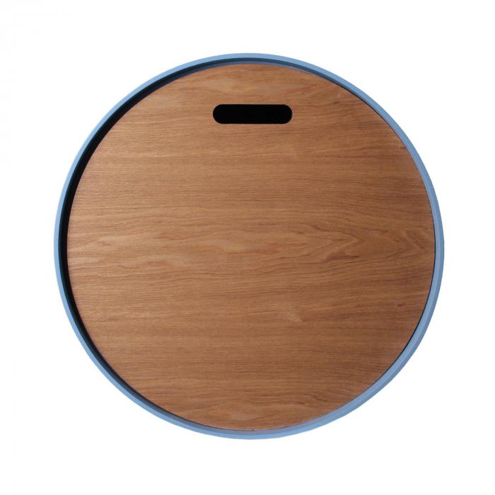 masuta-cafea-lemn-rotunda-blue 4