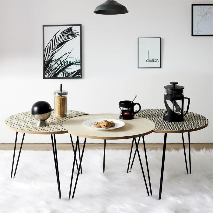 masuta-cafea-set-3-bucati-design-modern-culori-diferite 1