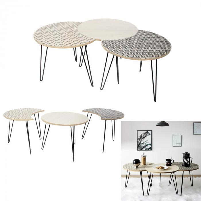 masuta-cafea-set-3-bucati-design-modern-culori-diferite 0
