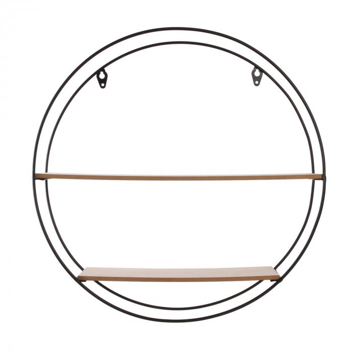 raft de perete rotund metalic [2]