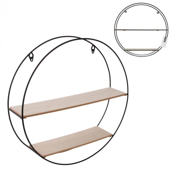 raft de perete rotund metalic [0]