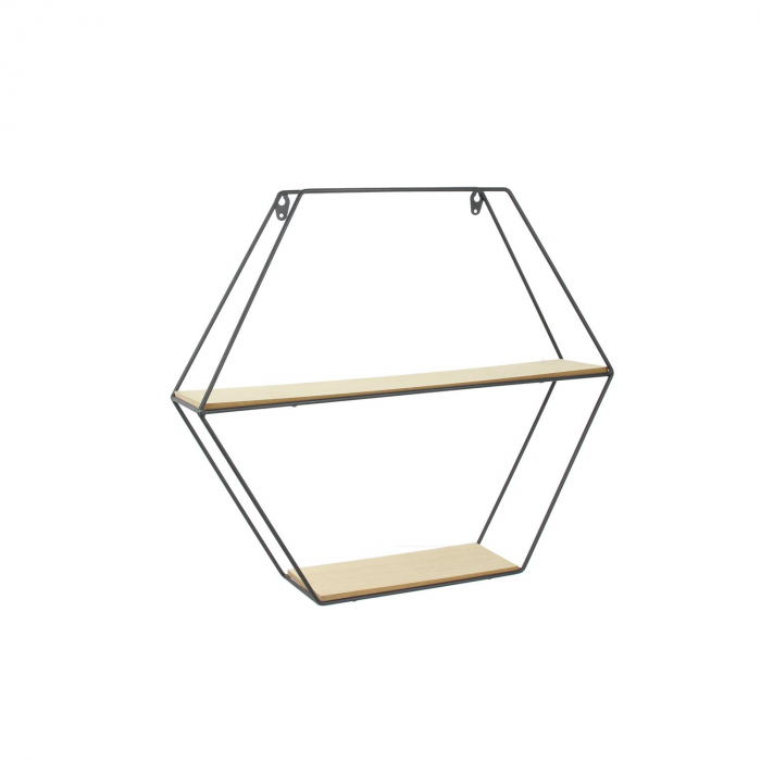 raft metalic pentru perete hexagon [3]