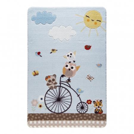 Covor copii Sunny Day Bleu 100 x 150 cm [0]