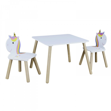 Set masuta si scaunele copii Unicorn2