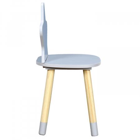 scaunel copii gri deschis star [3]