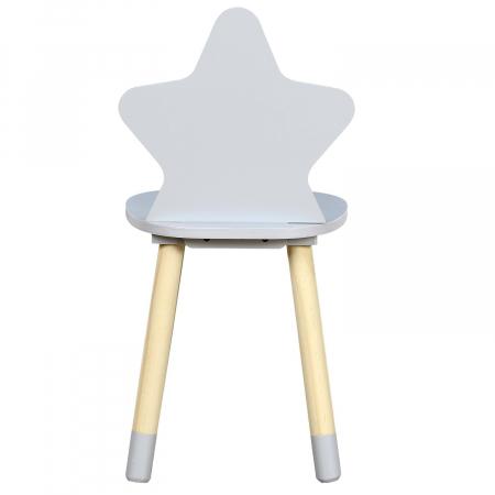 scaunel copii gri deschis star [4]