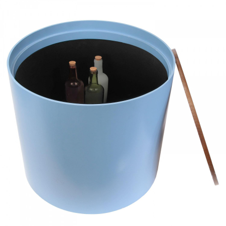 Masuta cafea lemn rotunda Blue5