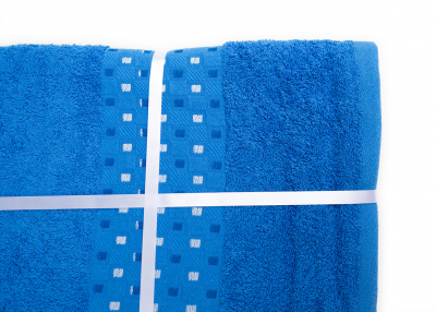 Set 3 prosoape de baie bleu Dekos2