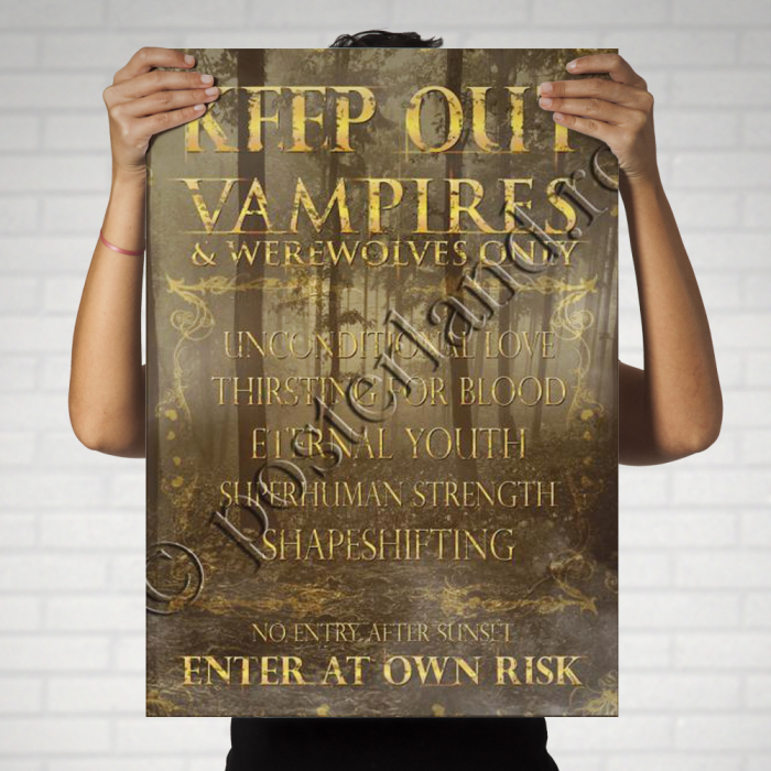 KEEP OUT vampires 1