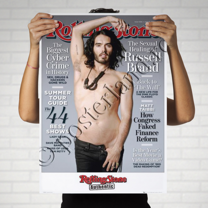 ROLLING STONE Russell Brand 0