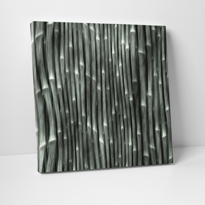 Tablou canvas abstract, Bete de bambus 0