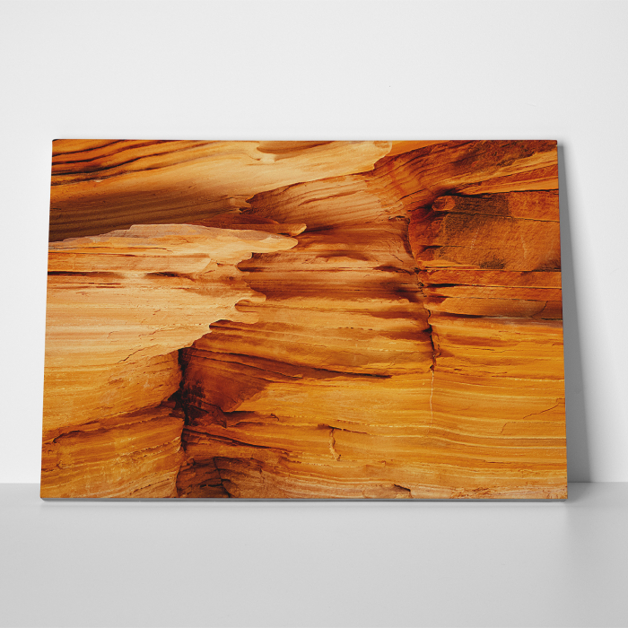 Tablou canvas abstract, Interiorul unui canion 2