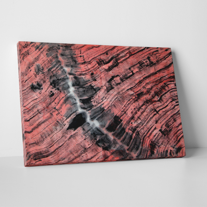Tablou canvas abstract, Urme in lemn 0