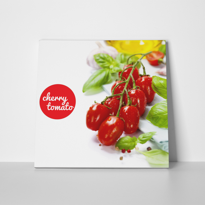 Tablou canvas bucatarie, Cherry Tomatoes 3
