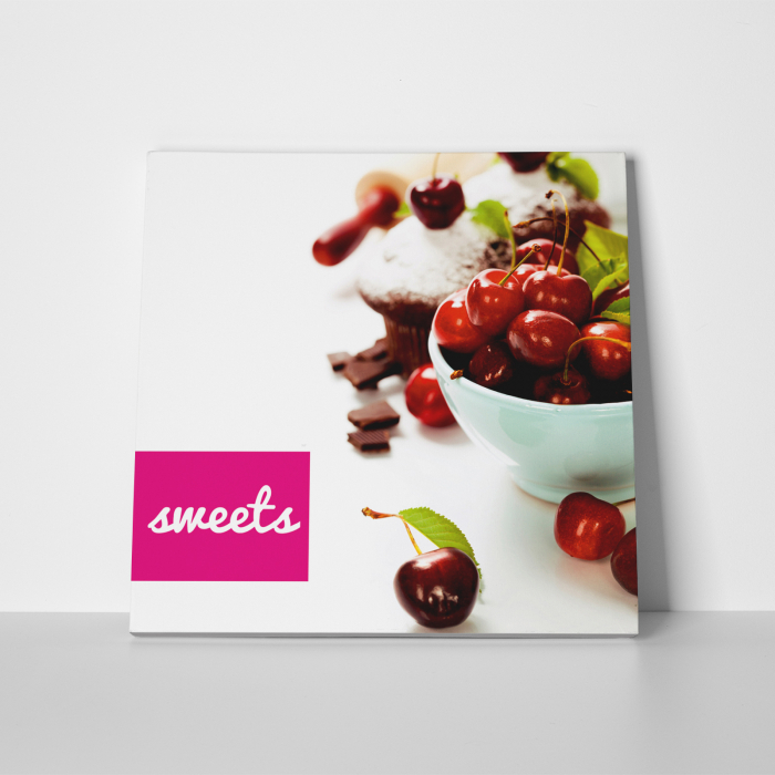 Tablou canvas bucatarie, Red Sweets 2