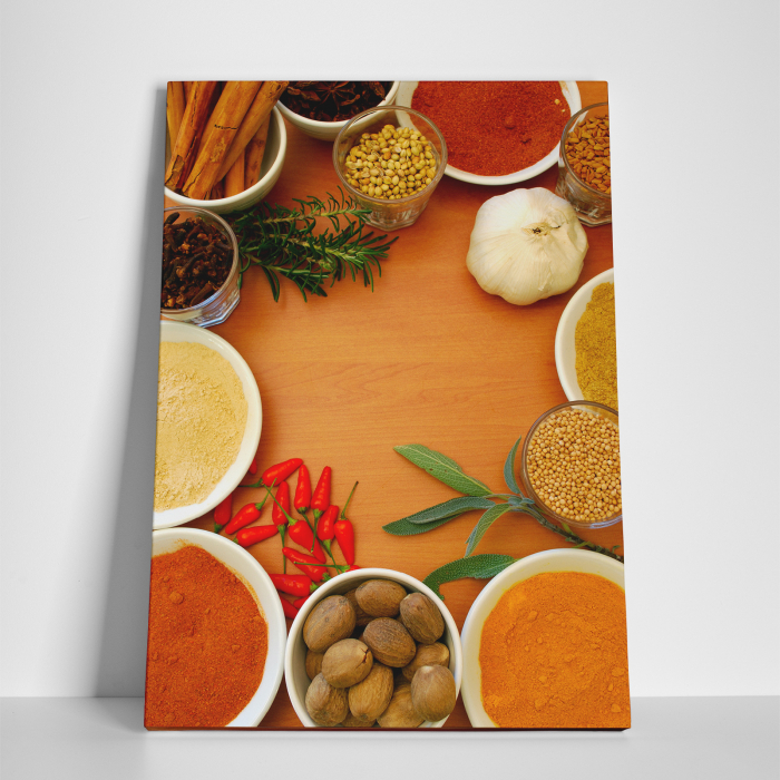 Tablou canvas bucatarie, Spices 3