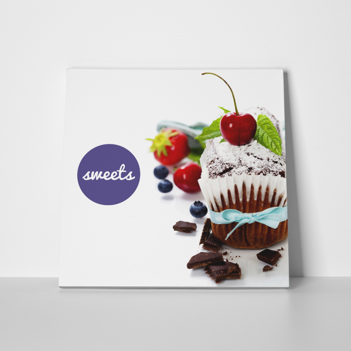 Tablou canvas bucatarie, Sweets 4