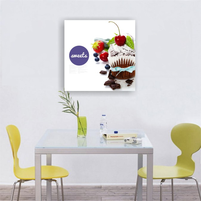 Tablou canvas bucatarie, Sweets 2