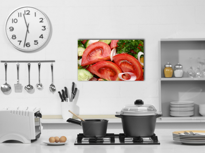 Tablou canvas bucatarie, Tomatoe Slices 2