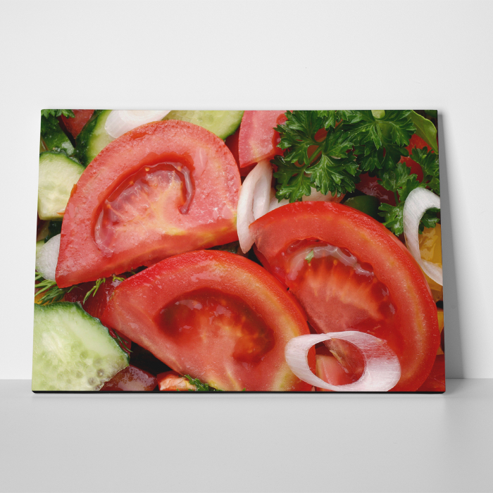 Tablou canvas bucatarie, Tomatoe Slices 4