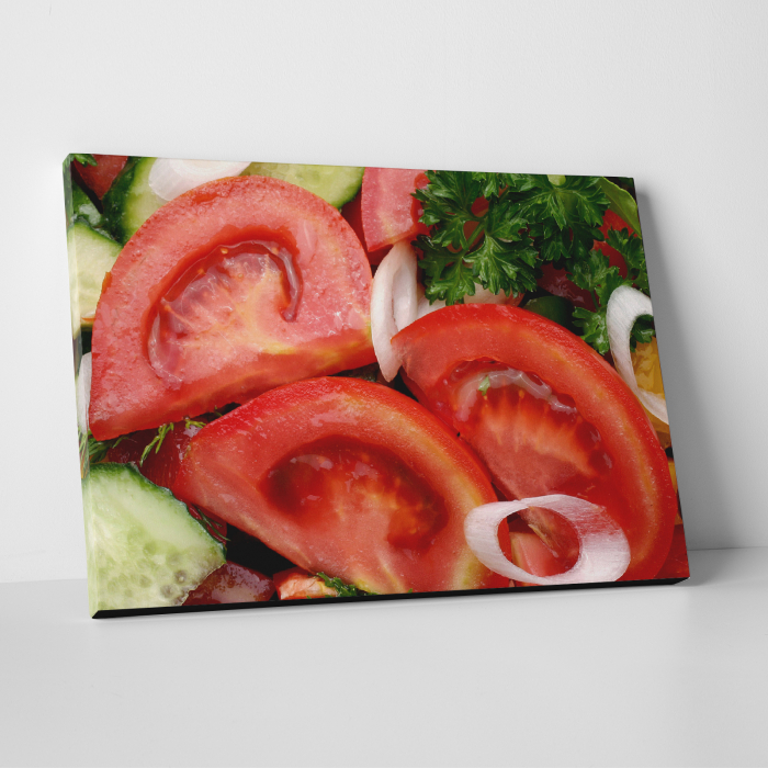 Tablou canvas bucatarie, Tomatoe Slices 0
