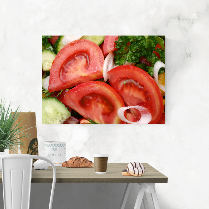Tablou canvas bucatarie, Tomatoe Slices 1