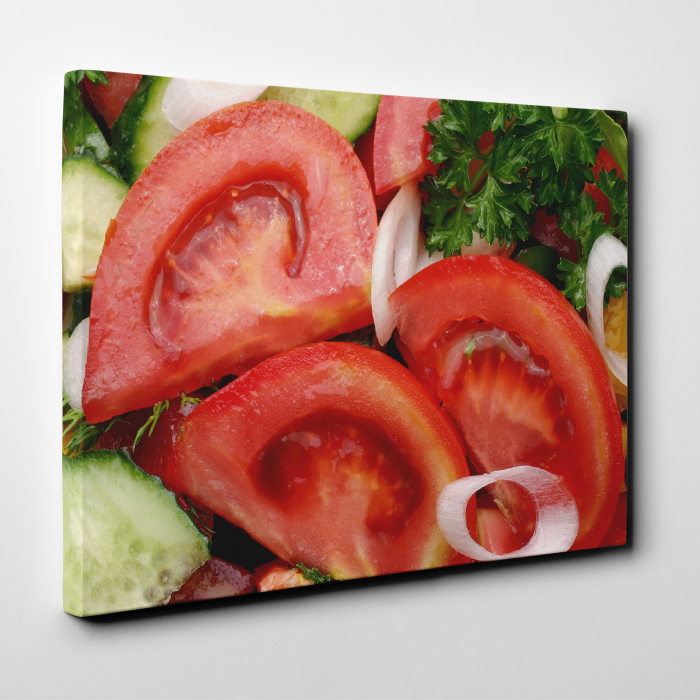 Tablou canvas bucatarie, Tomatoe Slices 3