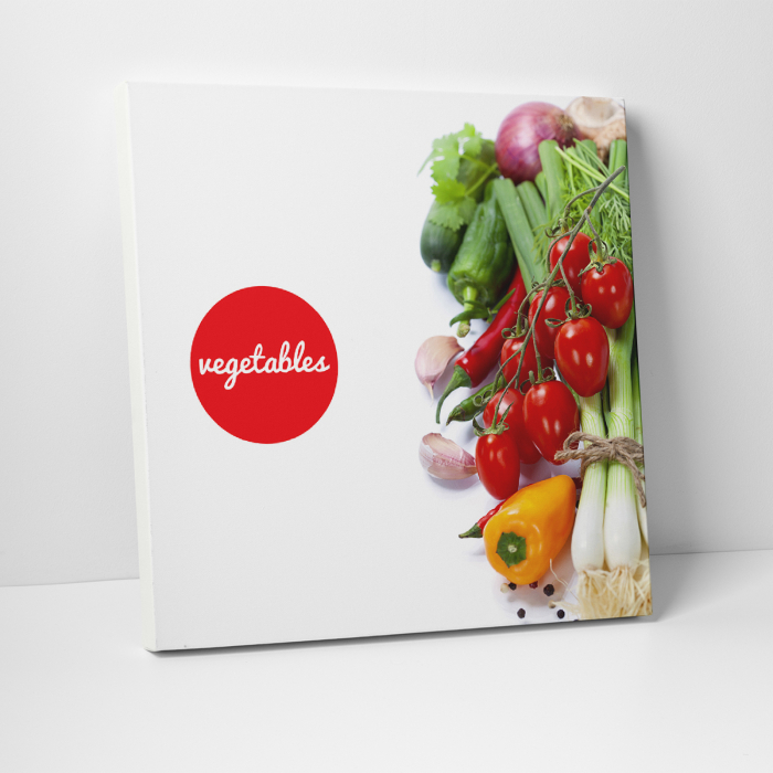 Tablou canvas bucatarie, Vegetables Salad 0