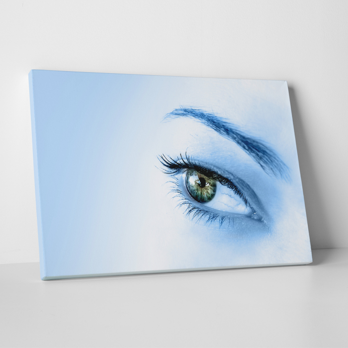 Tablou canvas people, Blue Eye 0