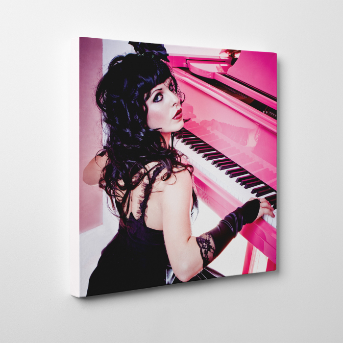 Tablou canvas people, Pink Piano Girl 1