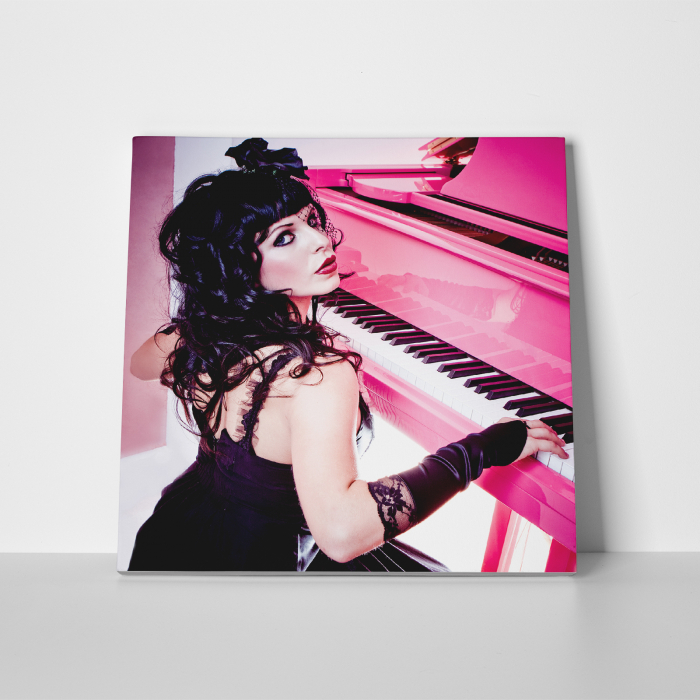Tablou canvas people, Pink Piano Girl 2