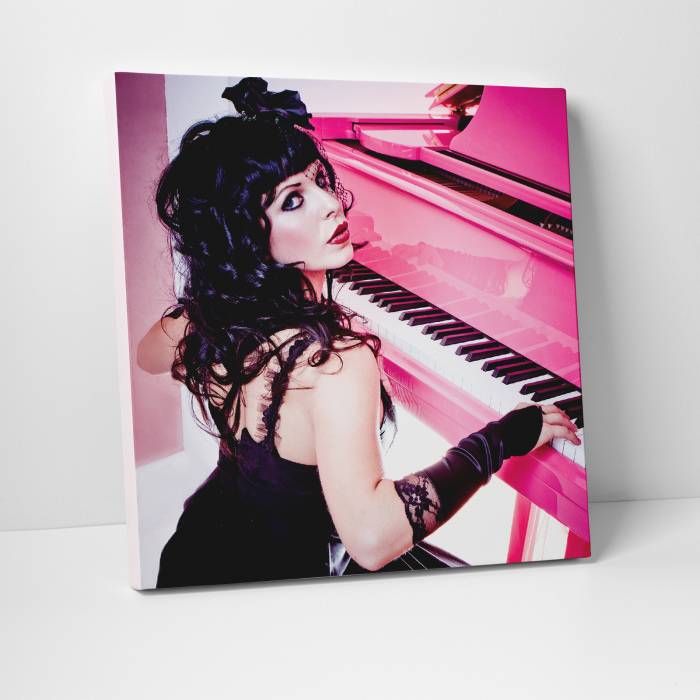 Tablou canvas people, Pink Piano Girl 0