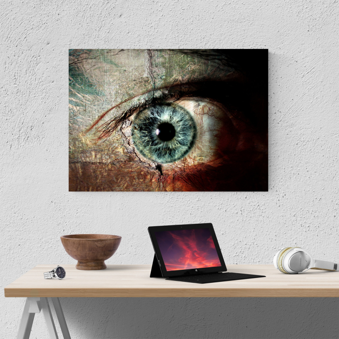 Tablou canvas people, The eye 3