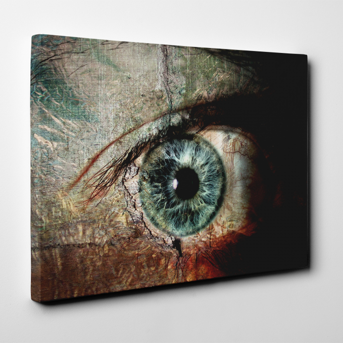 Tablou canvas people, The eye 1
