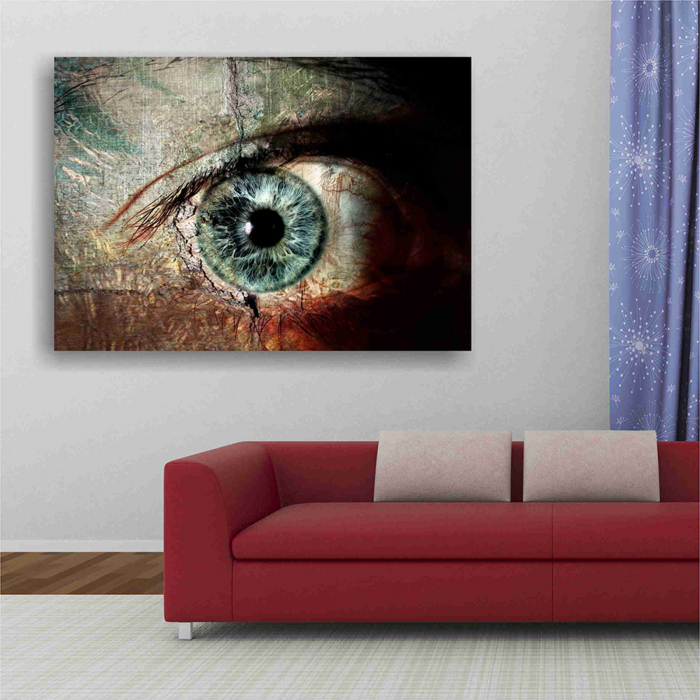 Tablou canvas people, The eye 4