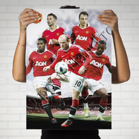 MANCHESTER UNITED Players1