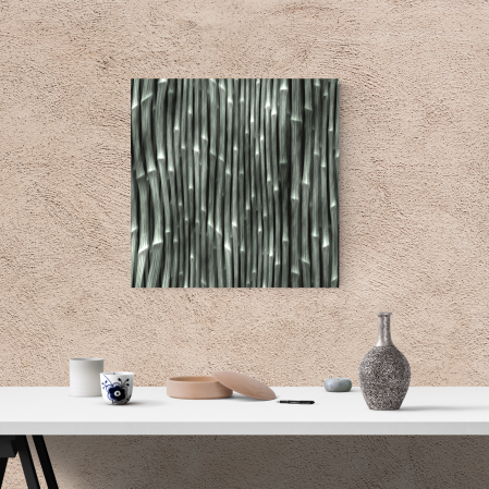 Tablou canvas abstract, Bete de bambus1