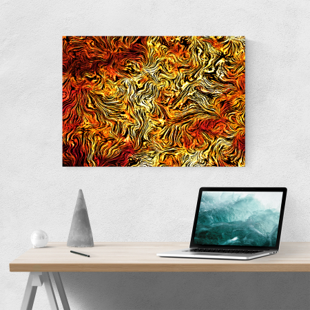 Tablou canvas abstract, Leo Skin1