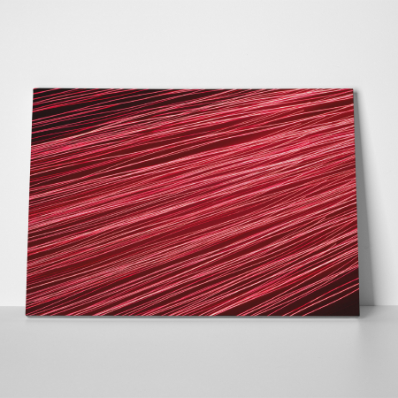 Tablou canvas abstract, Linii rosiatice2
