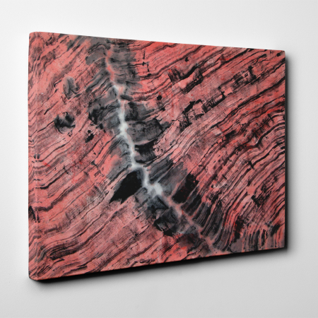 Tablou canvas abstract, Urme in lemn3