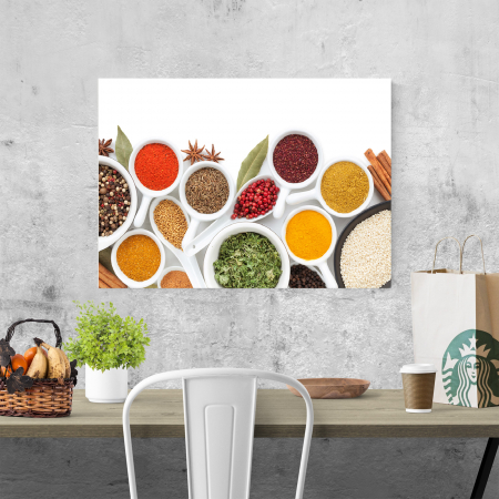 Tablou canvas bucatarie, Colorfull Spices3