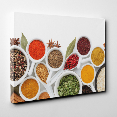 Tablou canvas bucatarie, Colorfull Spices2