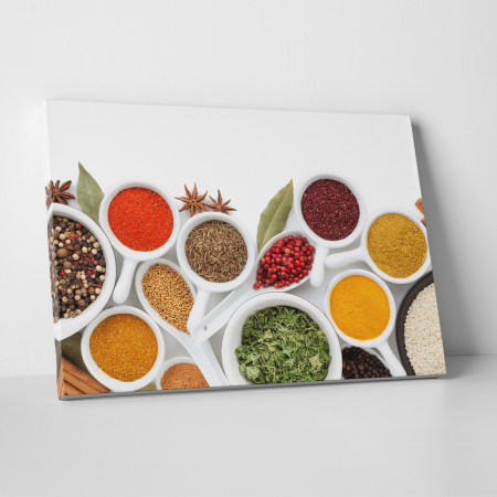 Tablou canvas bucatarie, Colorfull Spices0
