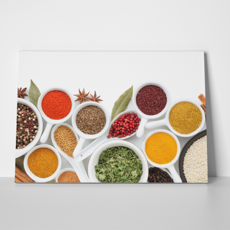 Tablou canvas bucatarie, Colorfull Spices1