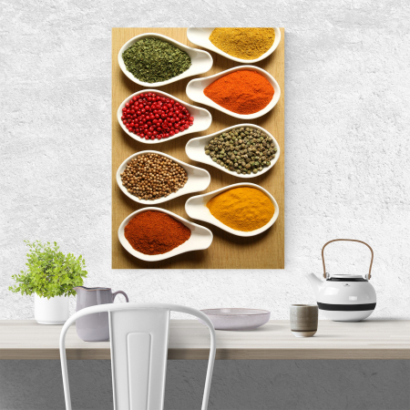 Tablou canvas bucatarie, Hot Spices3