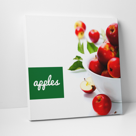 Tablou canvas bucatarie, Red Apples0